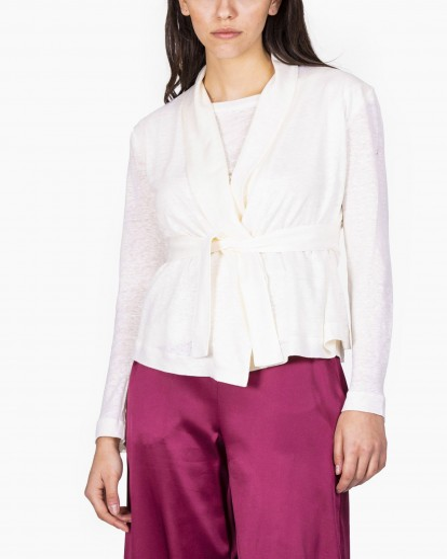 Giacca in jersey di lino